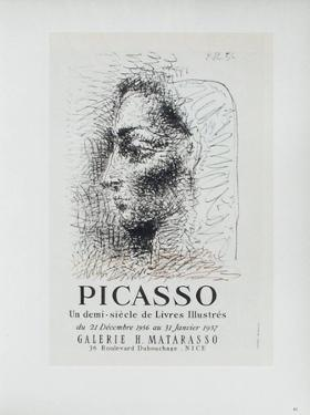 AF 1957 - Galerie Matarasso by Pablo Picasso