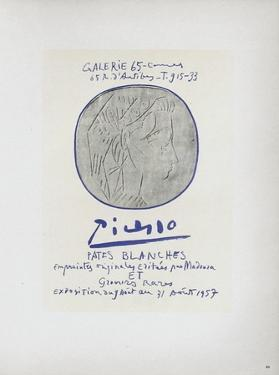 AF 1957 - Pâtes blanches by Pablo Picasso