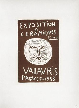 AF 1958 - Céramiques Pâques 1958 by Pablo Picasso