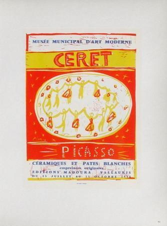 AF 1958 - Musée Municipal Céret by Pablo Picasso