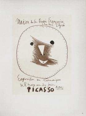 AF 1958 - Picasso céramiques II by Pablo Picasso