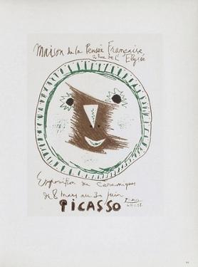 AF 1958 - Picasso céramiques by Pablo Picasso