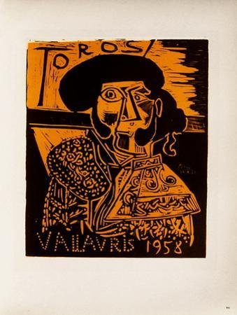 AF 1958 - Toros Vallauris by Pablo Picasso