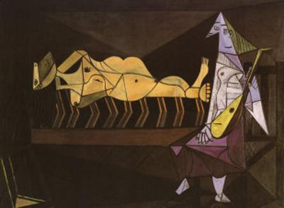 Aubade, c.1942 by Pablo Picasso