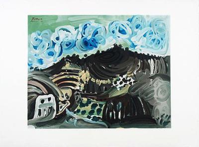 Blick aus dem Atelier by Pablo Picasso
