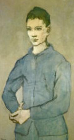 Blue Boy by Pablo Picasso
