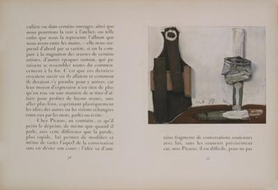 Bouteille et Vitre by Pablo Picasso