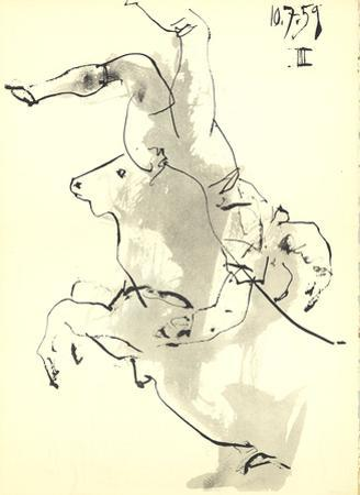 Bucking Bull by Pablo Picasso
