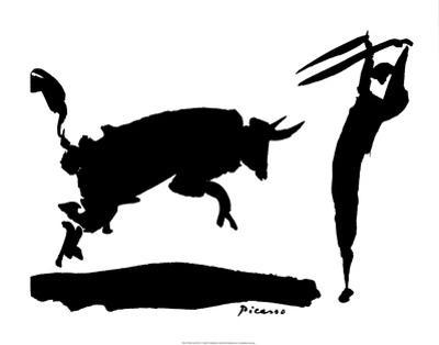 Bullfight III by Pablo Picasso