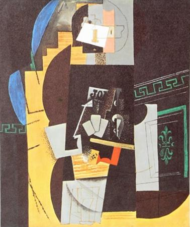 Card Player by Pablo Picasso