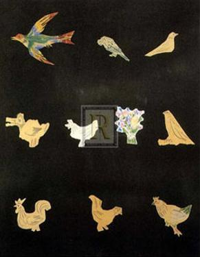 Decoupages by Pablo Picasso