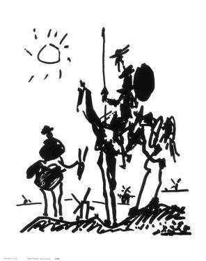 Don Quixote, c.1955 by Pablo Picasso