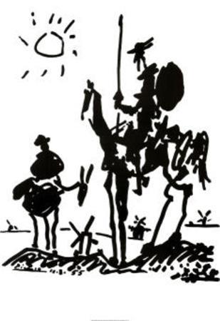 Don Quixote, c. 1955 by Pablo Picasso