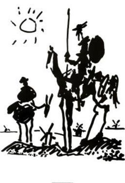 Don Quixote, c. 1955 by Pablo Picasso