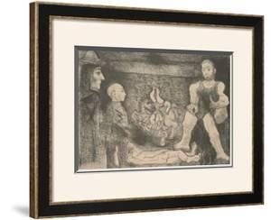 Etchings from the 347 by Pablo Picasso