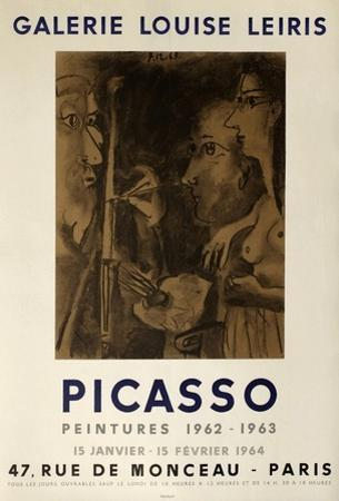 Expo 64 - Galerie Louise Leiris by Pablo Picasso