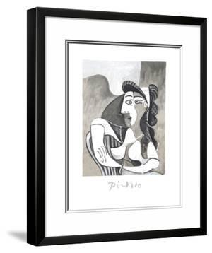 Femme Accoudee au Fauteuil by Pablo Picasso