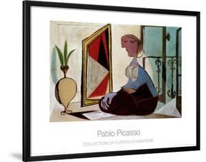 Femme au Miroir, 1937 by Pablo Picasso