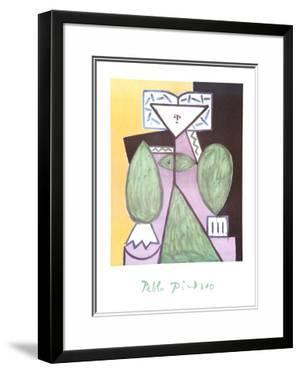 Femme en Vert et Mauve by Pablo Picasso