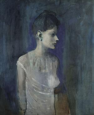 Girl in a Chemise, c. 1905 by Pablo Picasso