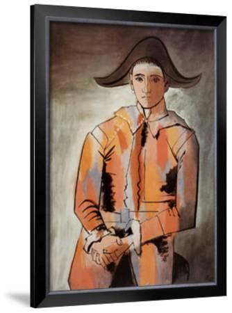 Harlequin with Folded Hands, c.1923 by Pablo Picasso