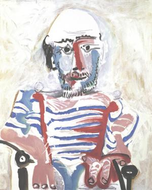 Homme Assis by Pablo Picasso