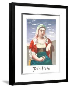 Italienne d'Apres Une Photographie by Pablo Picasso