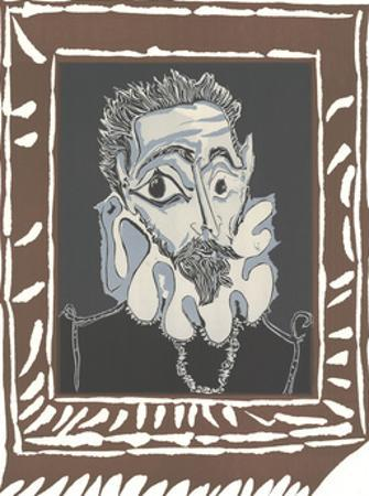L'Homme a la Fraise by Pablo Picasso