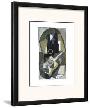 L'Homme a la Guitare, 1918 by Pablo Picasso