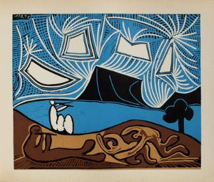 LC - Bacchanale II by Pablo Picasso