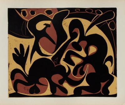 LC - Pique (noir et beige) by Pablo Picasso