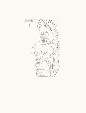 Le Goût du Bonheur 26 by Pablo Picasso