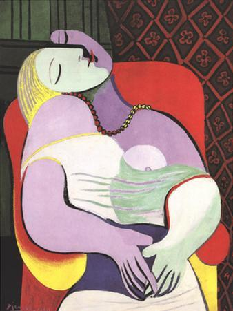 Le Reve (Marie Therese) by Pablo Picasso