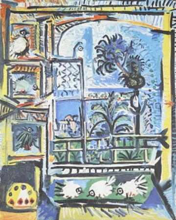 Les Pigeons by Pablo Picasso