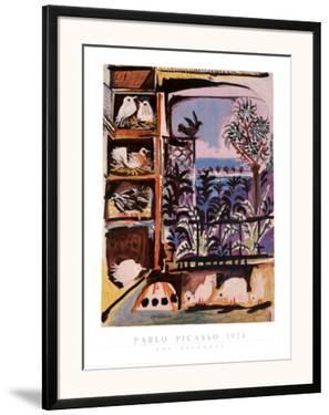 Los Pichones by Pablo Picasso