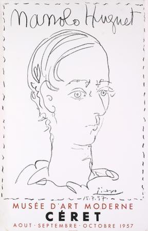 Manolo Hugnet, Ceret, Musee D'art Moderne by Pablo Picasso