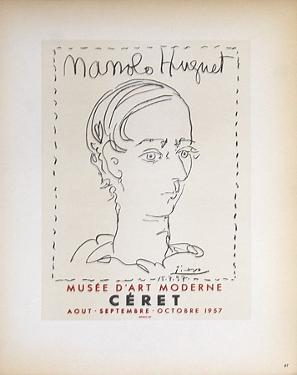 Manolo Huguet by Pablo Picasso