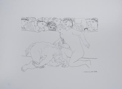 Minotauro Vencido by Pablo Picasso