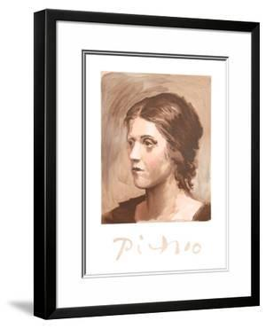 Olga Picasso by Pablo Picasso