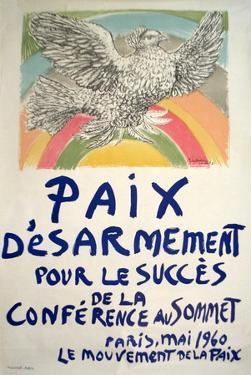 Paix Disarmement-Peace by Pablo Picasso