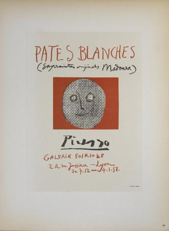 Pates Blanches II by Pablo Picasso