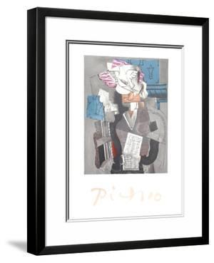 Personnage et Colombe by Pablo Picasso