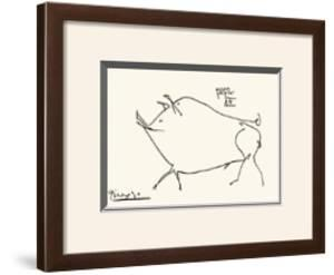 Pig by Pablo Picasso