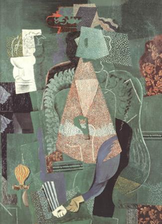 Portrait de jeune fille (No Text) by Pablo Picasso