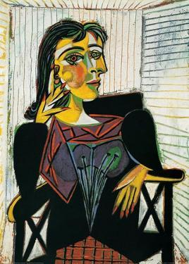 Portrait of Dora Maar, c.1937 by Pablo Picasso