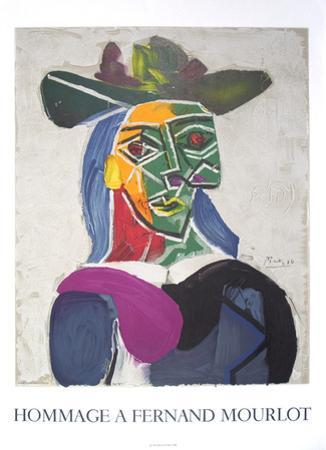 Portrait of Dora Mar by Pablo Picasso