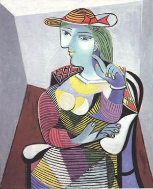 Portrait of Marie Therese by Pablo Picasso