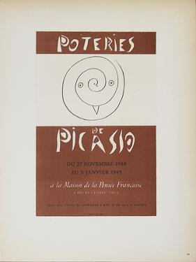 Poteries de Picasso by Pablo Picasso