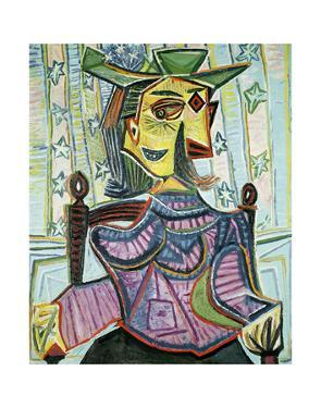 Seated Portrait of Dora Maar by Pablo Picasso