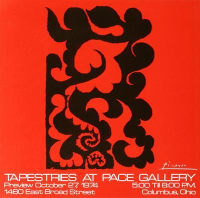 Tapestries at Pace by Pablo Picasso